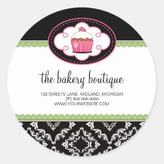 Autocollants d'affaires de boutique de boulangerie