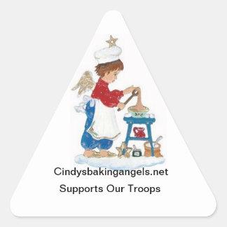 Autocollants d'anges de la cuisson de Cindy !