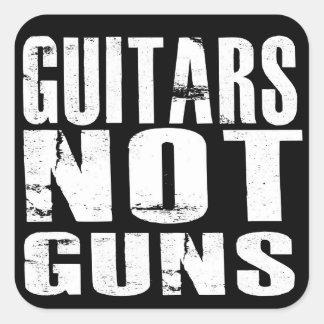 Autocollants d'armes à feu de guitares pas