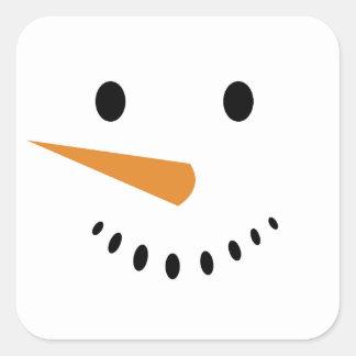Autocollants de bonhomme de neige