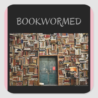 """Autocollants de """"Bookwormed"""" pour toute occasion"""