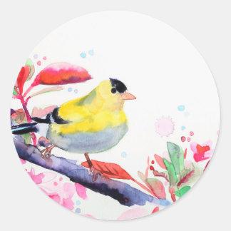 Autocollants de chant d'oiseau