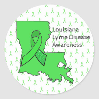 Autocollants de conscience de la maladie de Lyme
