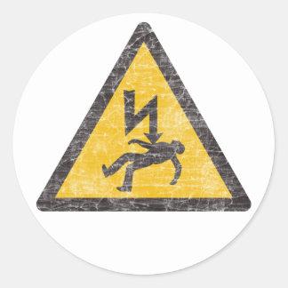 Autocollants de danger