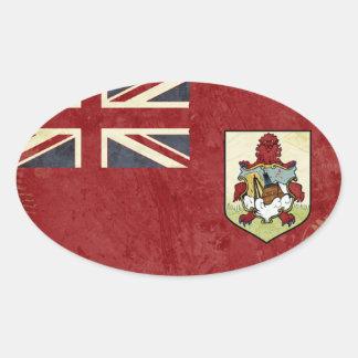 Autocollants de drapeau des Bermudes