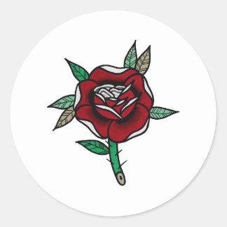 Autocollants de fleur de rad //
