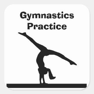 """Autocollants de """"gymnastique"""""""