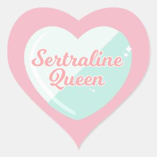 Autocollants de la Reine de sertraline