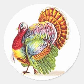 Autocollants de la Turquie de thanksgiving -