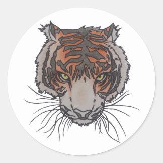 Autocollants de logo de tigre de RixTatt