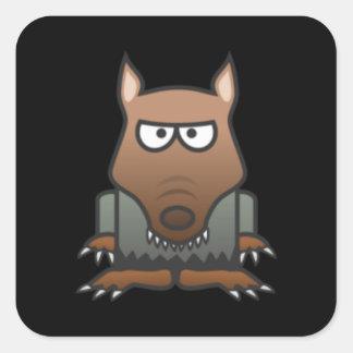 Autocollants de loup-garou