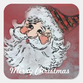 Autocollants de Noël de Père Noël
