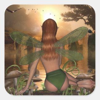 Autocollants de observation féeriques mystiques de