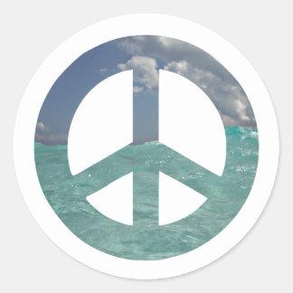 Autocollants de paix de Grand Cayman