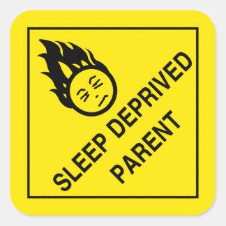 Autocollants de parent déshérités par sommeil