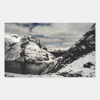 Autocollants de paysage de montagne de la Nouvelle