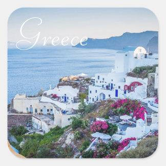 Autocollants de photo de Santorini Grèce
