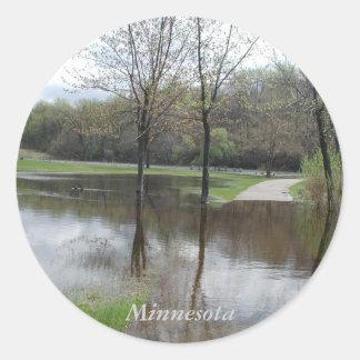 Autocollants de Rebecca de lac minnesota par Janz