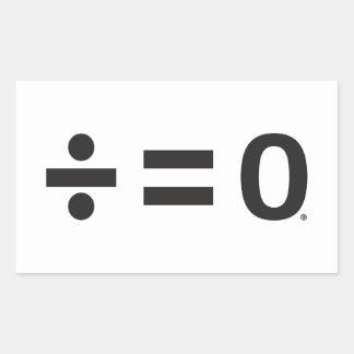Autocollants de rectangle de symbole d'unité,