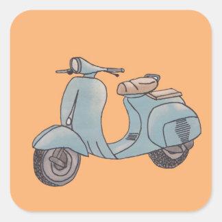 Autocollants de scooter