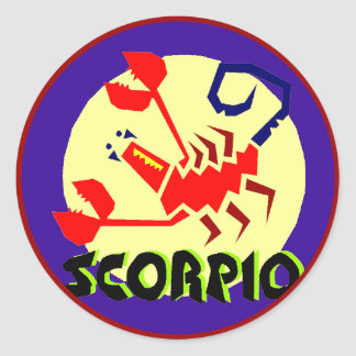 Autocollants de Scorpion