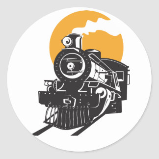 Autocollants de train de vapeur