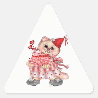 Autocollants de triangle de CAT AutoCollant de