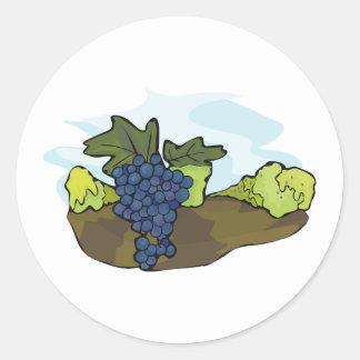 Autocollants de vigne