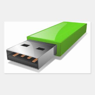 Autocollants d'entraînement d'instantané d'USB