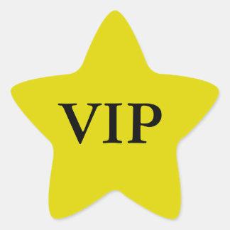 Autocollants d'étoile de VIP