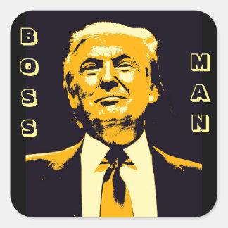 Autocollants d'homme de patron de Donald Trump