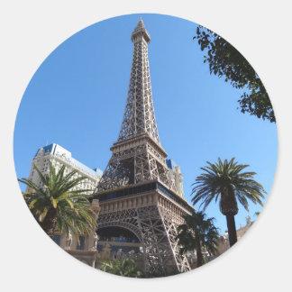 Autocollants d'hôtel et de casino de Paris Las