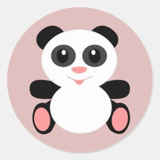 Autocollants d'ours panda