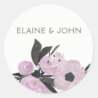autocollants floraux de mariage de ressort