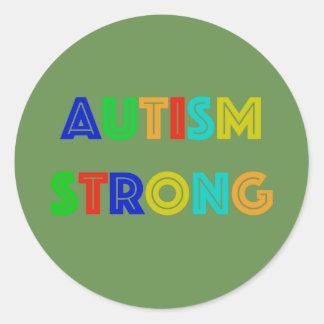 Autocollants forts d'autisme