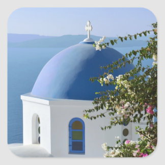 Autocollants grecs de scène d'île