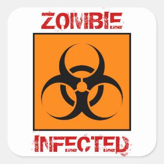 Autocollants infectés par zombi