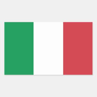 Autocollants italiens de drapeau