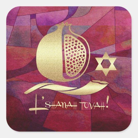 Autocollants juifs de cadeau de la nouvelle année