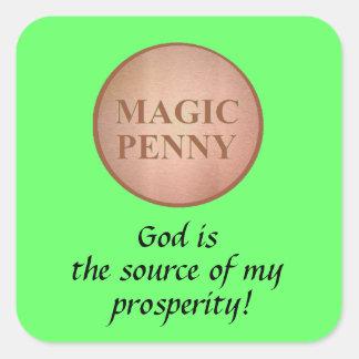 Autocollants magiques de penny