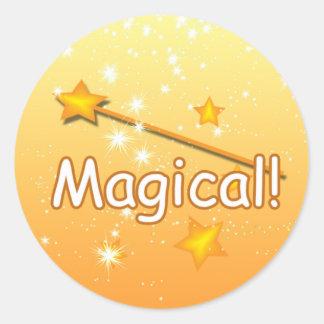 Autocollants magiques de récompense de professeur