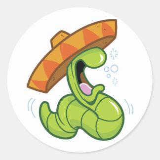 Autocollants mexicains de ver