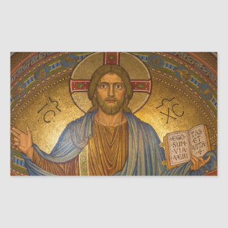 Autocollants religieux de Noël de Jésus-Christ