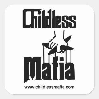 Autocollants sans enfant de Mafia