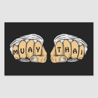 Autocollants thaïlandais de Muay