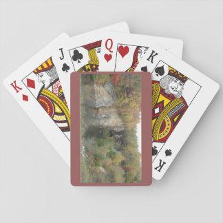 Automne dans les cartes de jeu de Blue Ridge Jeu De Cartes