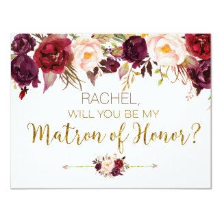 Automne floral vous serez ma carte de dame de