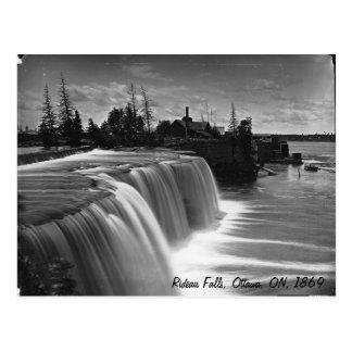 Automnes de Rideau, Ottawa, DESSUS, carte postale