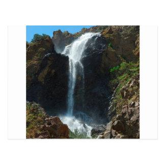 Automnes d'extrémité de montagne rocheuse de l'eau carte postale