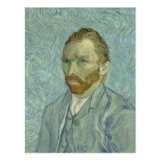 Autoportrait 1889 de Vincent van Gogh Carte Postale